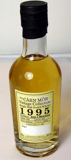 Allt a'Bhainne 1995 Carn Mor 20cl