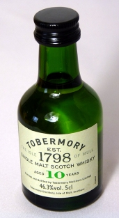 Tobermory 10yo 5cl