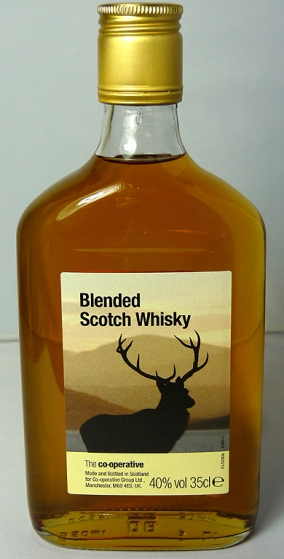 COOP Blended Scotch Whisky 35cl