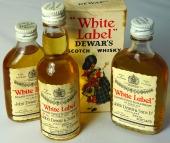 Dewar's White Label 3 x 5cl