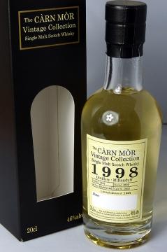 Miltonduff 1998 Carn Mor 20cl