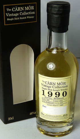 Strathmill 1990 Carn Mor 20cl