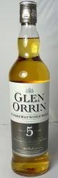 Glen Orrin 5yo 70cl