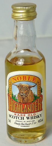 Noble Highlander Special Reserve 5cl