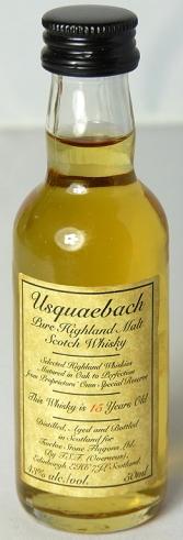 Usquaebach 15yo 5cl