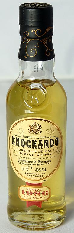 Knockando 1986 5cl