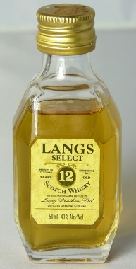 Langs Select 12yo 5cl
