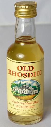 Old Rhosdhu - Loch Lomond - 5cl