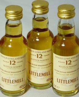 Littlemill 12yo 5cl x 3