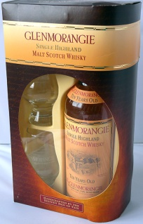 Glenmorangie 10yo and Glencairn Glasses 70cl