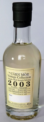 Clynelish 2003 Carn Mor 20cl