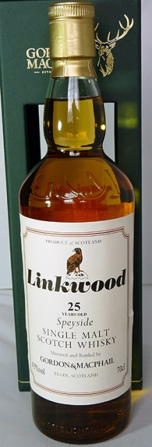 Linkwood 25yo 70cl