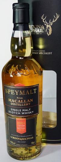 Macallan Speymalt 2004-2013 70cl