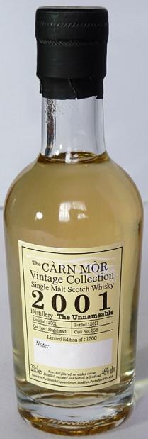The Unnameable 2001 Carn Mor 20cl