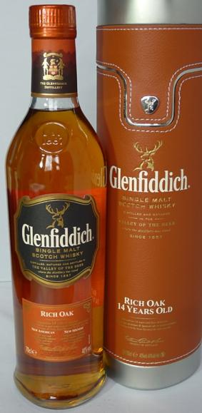 Glenfiddich Rich Oak 14yo 70cl