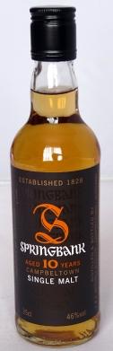Springbank 10yo 35cl