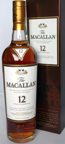 Macallan 12yo Sherry Oak 70cl