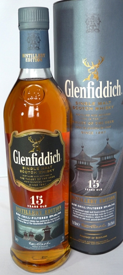 Glenfiddich 15yo Distillery Edition 70cl