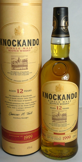 Knockando 12yo 1999 70cl