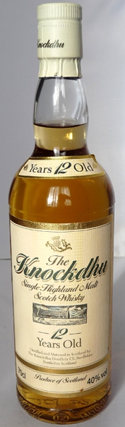 Knockdu 12yo 70cl