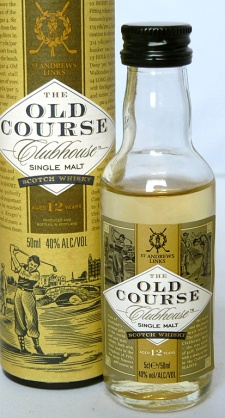 The Old Course Clubhouse 12yo 5cl