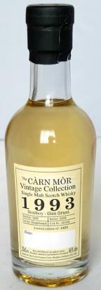 Glen Grant 1993 Carn Mor 20cl