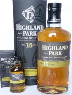 Highland Park 15yo 70cl 5cl