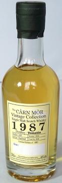 Tomatin 1987 Carn Mor 20cl