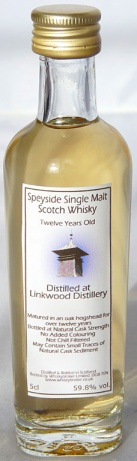Linkwood 12yo 59.8 5cl