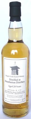 Dumbarton 1987 29yo 70cl