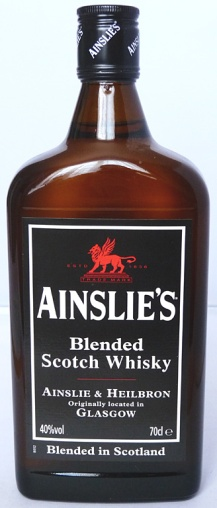 Ainslie's Blended Scotch Whisky NAS 70cl