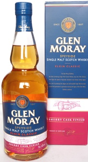 Glen Moray Sherry Cask Finish NAS 70cl