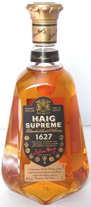 Haig Supreme 100cl