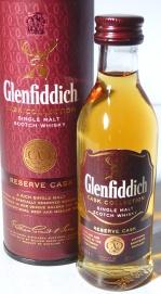 Glenfiddich Reserve Cask NAS 5cl