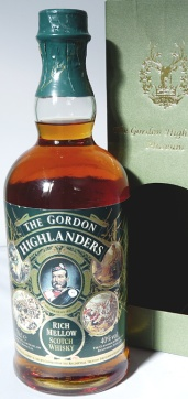 The Gordon Highlanders Rich Mellow NAS 70cl