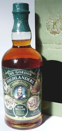 The Gordon Highlanders Rich Mellow NAS 70cl