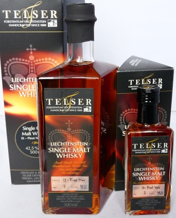 Telser 7yo IX Pinot Noir 50cl and 10cl