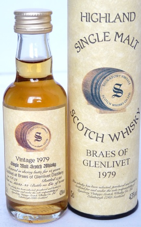 Braes of Glenlivet 15yo 1979 5cl