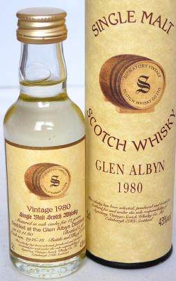 Glen Albyn 12yo 1980 5cl