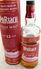 BenRiach 12yo Sherry Wood 70cl
