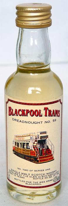 Glen Albyn 12yo Blackpool Trams 5cl