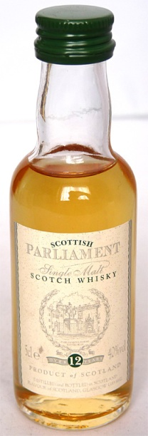 Scottish Parliament 12yo 5cl