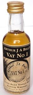 Vat No1 Author J A Bell NAS 5cl
