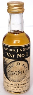 Vat No1 Author J A Bell NAS 5cl
