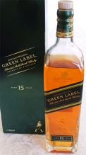 Johnnie Walker Green Label 15yo 100cl