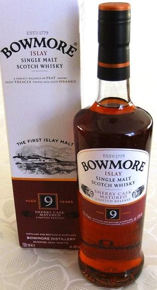 Bowmore 9yo 70cl