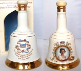 Bell's Decanters Prince William's Birth 1982 Queen's 60th 1986 NAS