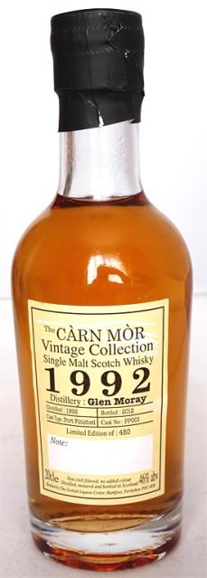 Glen Moray 1992 Carn Mor NAS 20cl