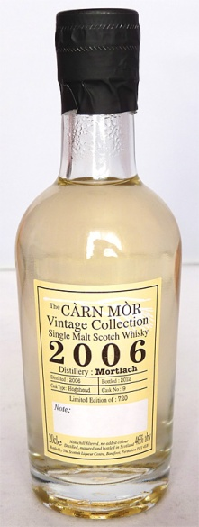 Mortlach 2006 Carn Mor NAS 20cl