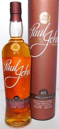Paul John Brilliance NAS 70cl